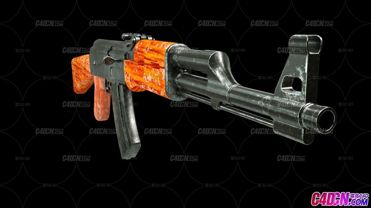 AK47-磨损(附带磨损插件)