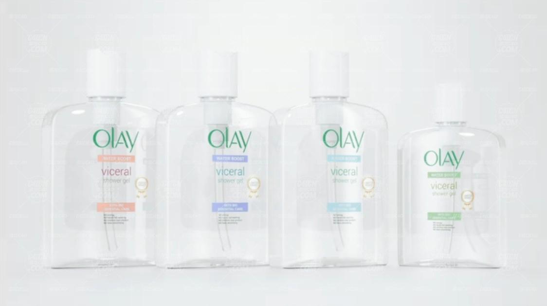 透明塑料化妆瓶包装瓶建模材质Octane渲染器C4D教程