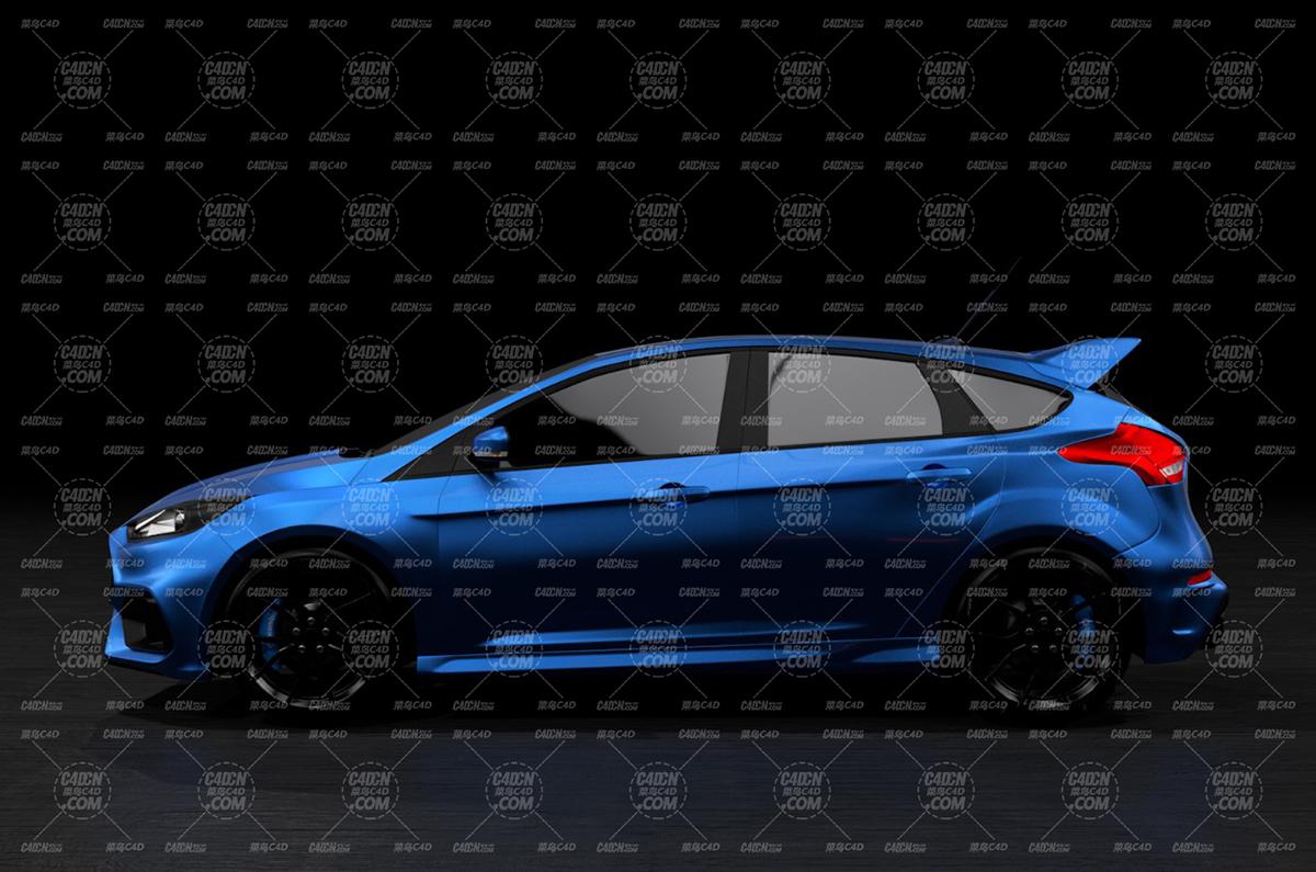 福特 2016款 福克斯 Focus RS,不带内饰,已绑定动力学
