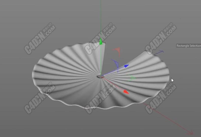 C4D模拟折叠折扇折纸动画视频教程 Disc-Fold-Animation
