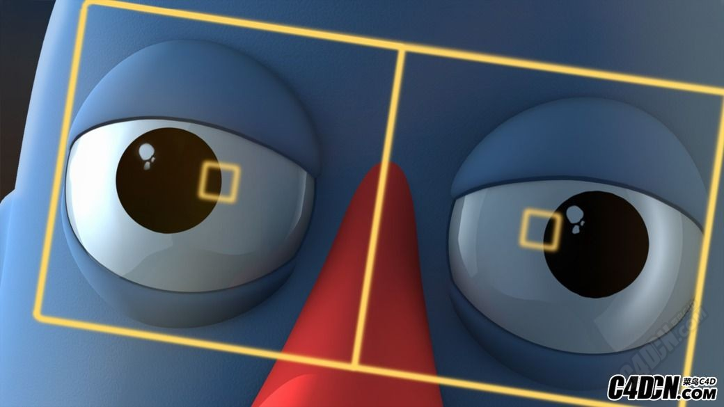 C4D卡通眼睛建模绑定动画教程