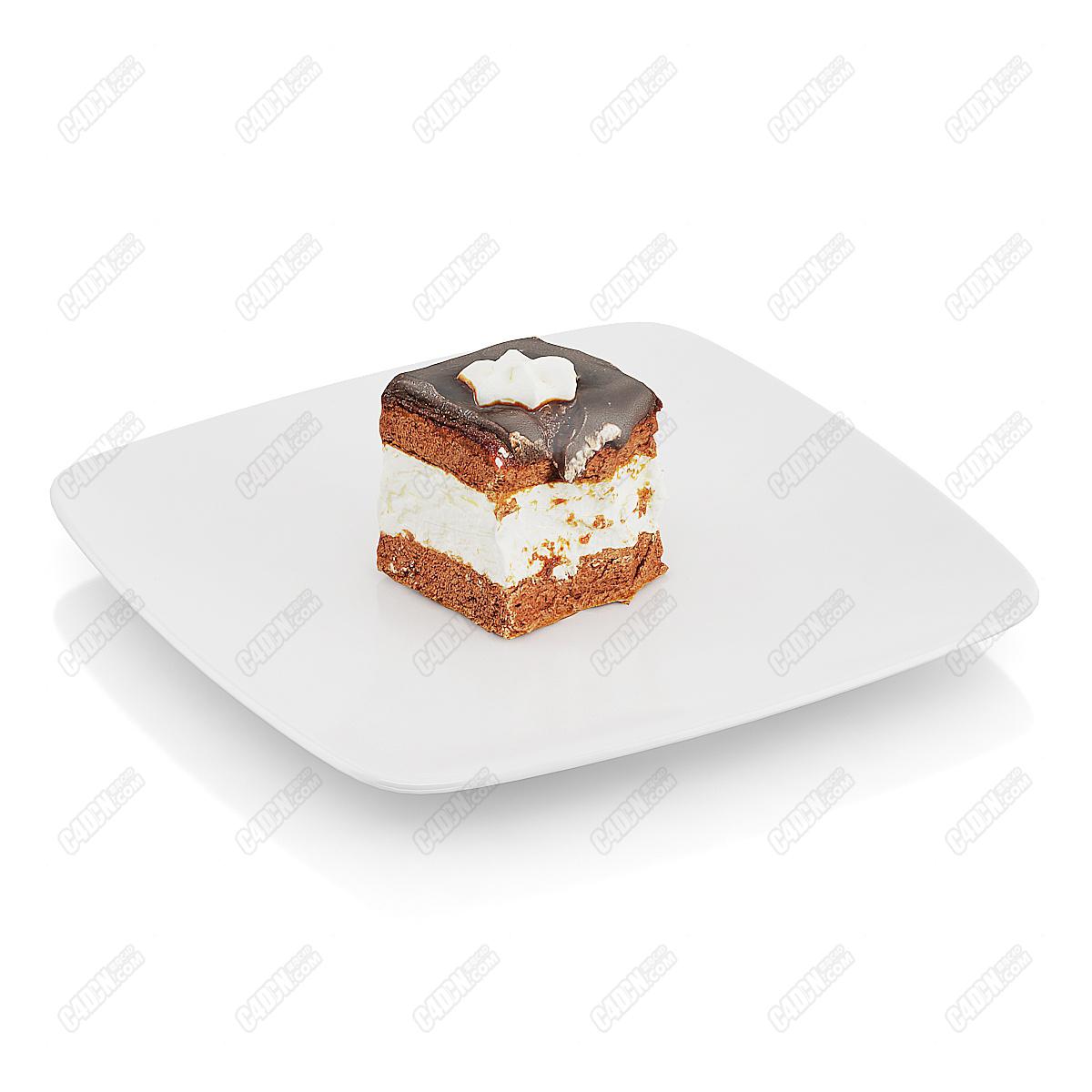 C4D模型-好看又好吃的精美蛋糕房甜品小零食(包含材质和贴图)