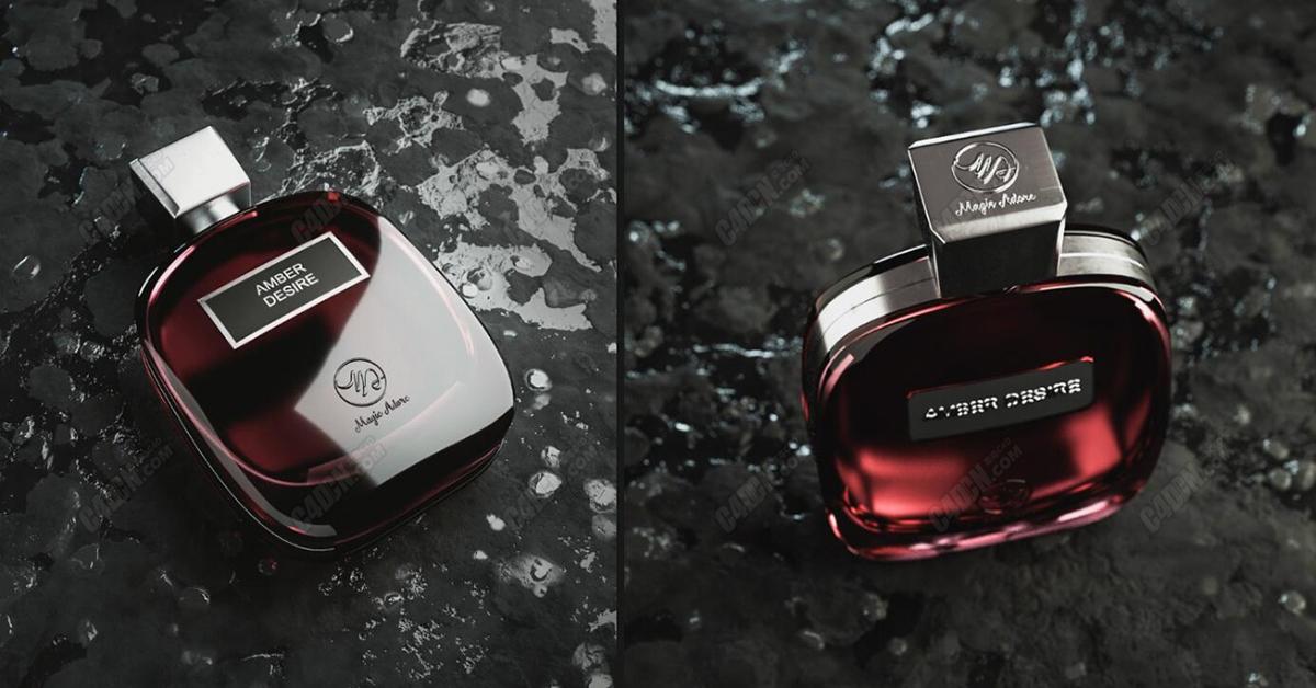 C4D香水瓶平面电商案例的制作