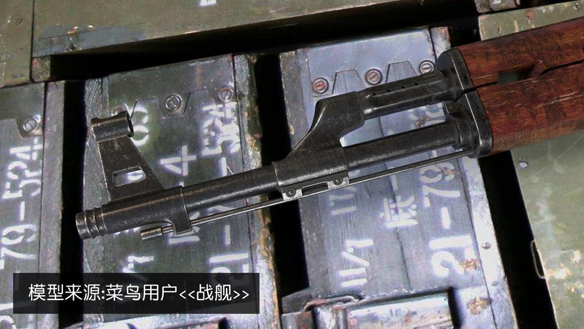 ak-47材质表现(感谢菜鸟战舰分享的模型)