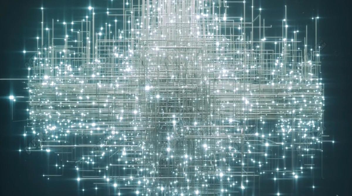 OC渲染器配合X-Particles粒子插件制作金屬網格線條C4D教程