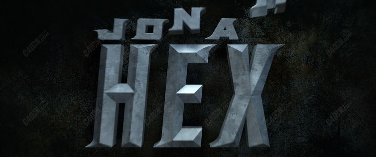 動畫金屬hex模型