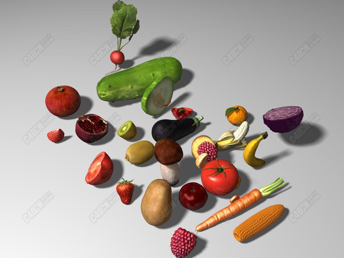 多年收藏蔬菜水果