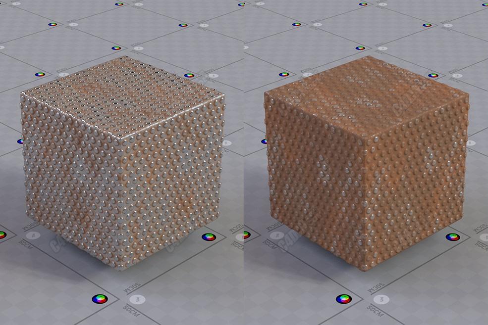 C4D教程 Arnold阿诺德渲染器模拟写实铁锈金属材质教程