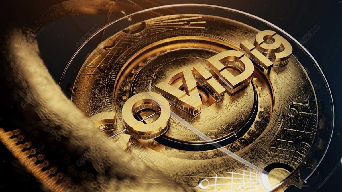 Redshift渲染器C4D黄金表盘材质文字设计教程