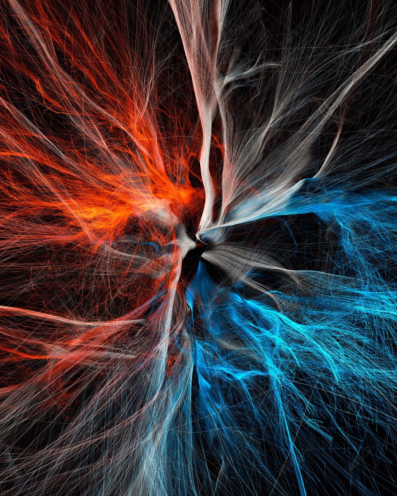 C4D粒子网格线条追踪工程