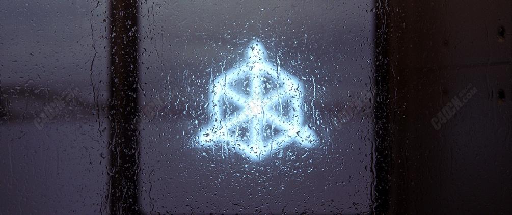 EXR格式8K分辨率下雨天水珠玻璃贴图