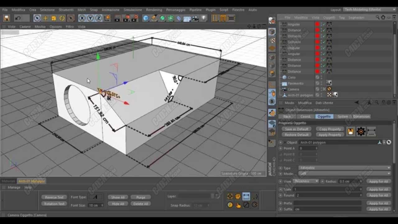 5个Caleidos4D Arch测量数据插件使用教程合集