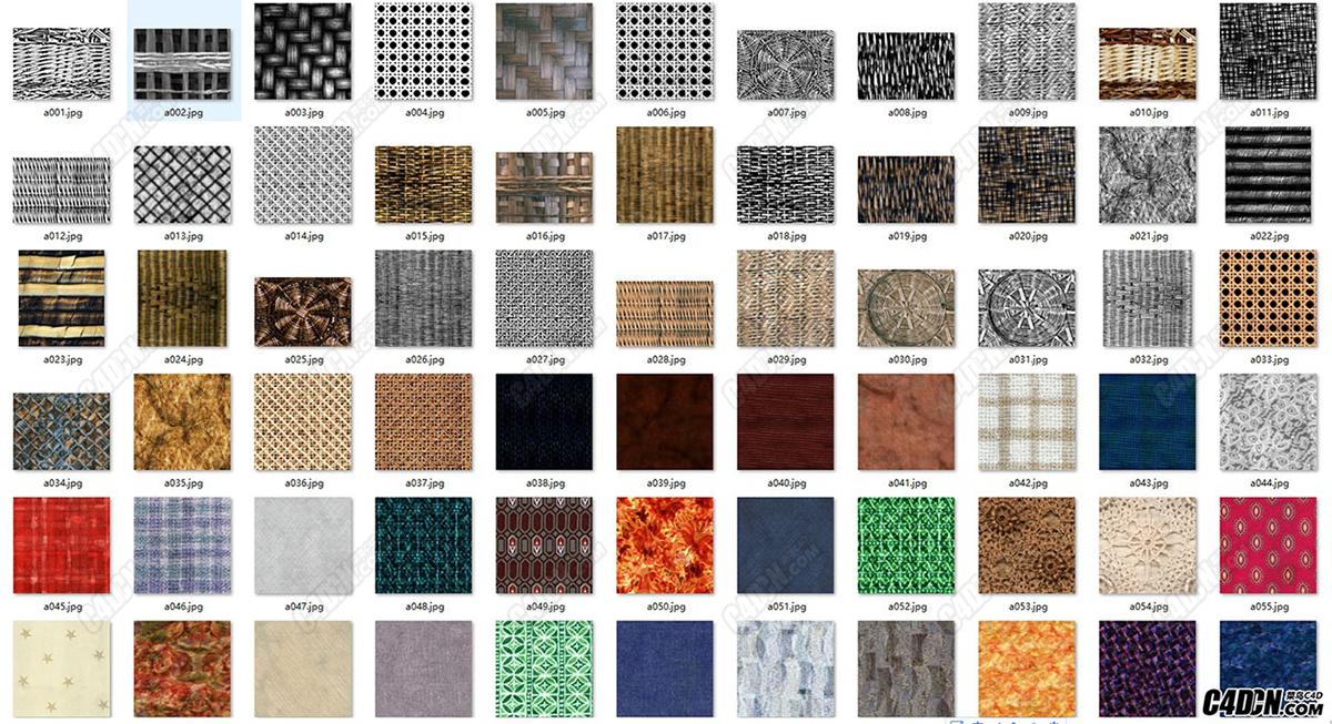 编制 布纹 布料贴图67款 贴图素材