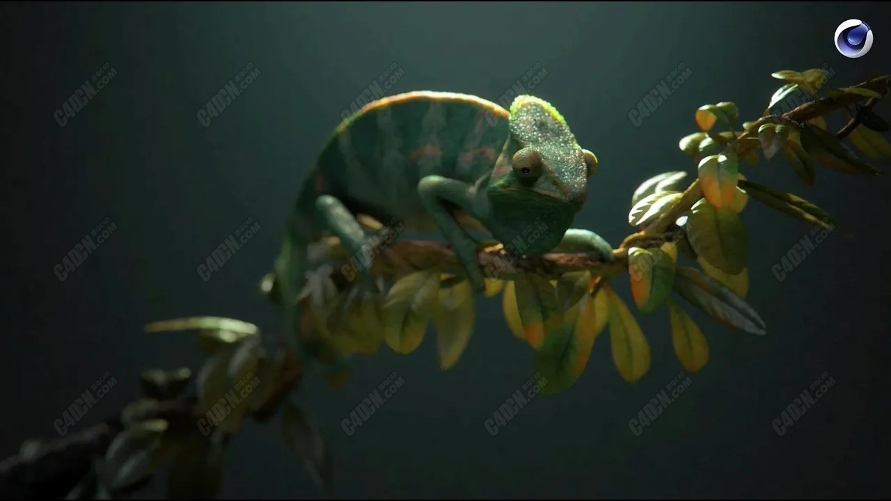 使用Cinema 4D使动物在静物中栩栩如生