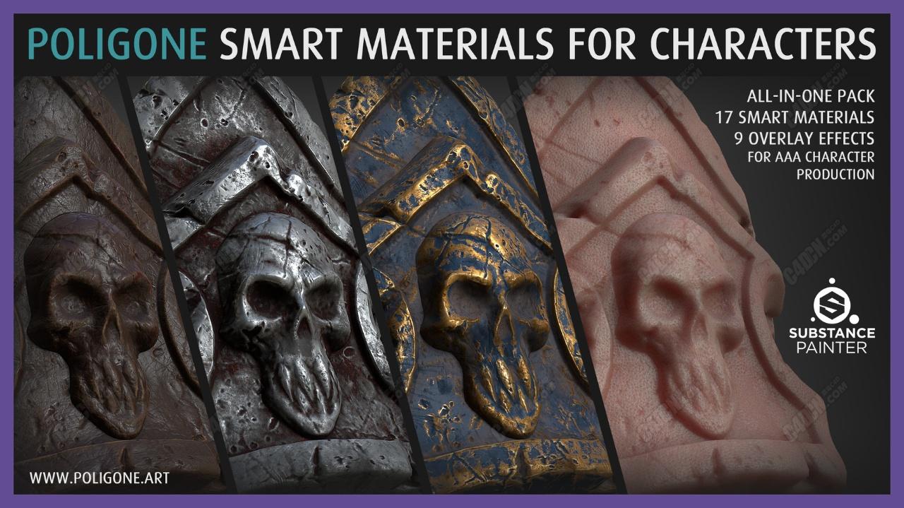 游戏模型材质纹理贴图素材合集