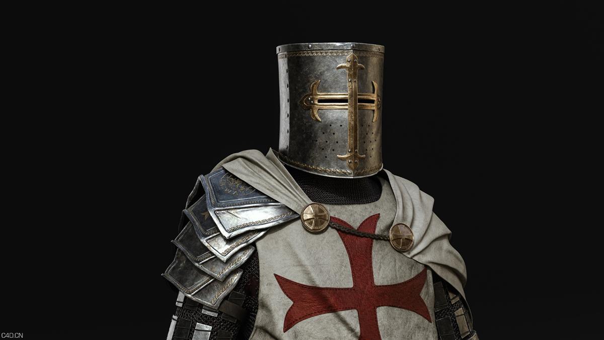 [CG作品] 十字军骑士