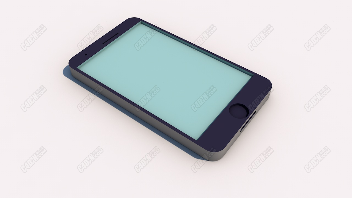 【粉丝投稿】怎样使用C4D做一个Q版手机-47.jpg