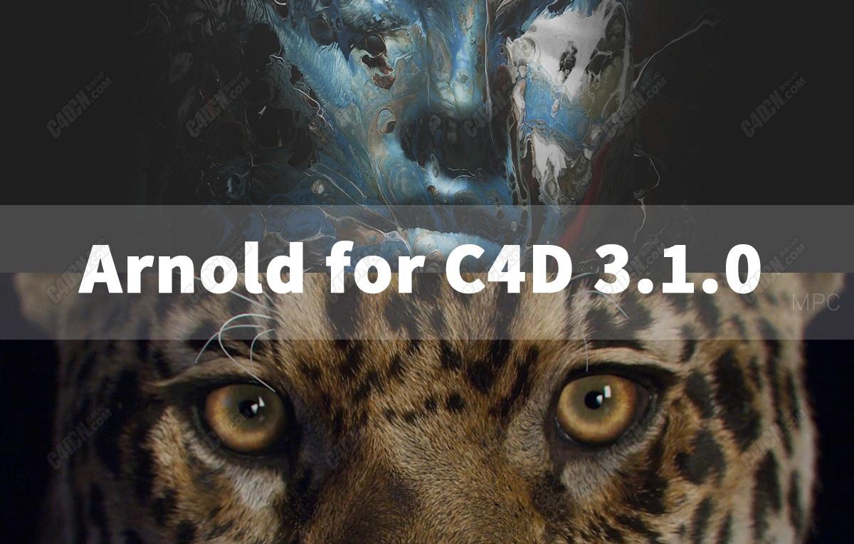 C4D渲染器插件Arnold 3.1.0版本下载