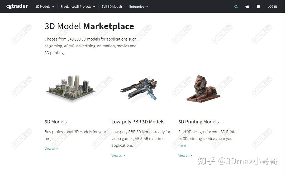 国内外最全的免费3d模型下载及全套视频教学-9.jpg