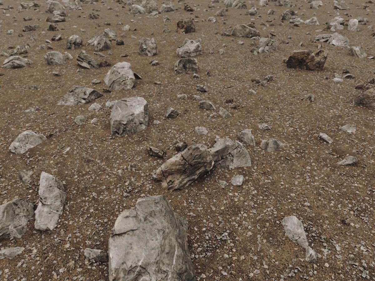 外太空行星地形沙漠模型包 Stellar Desert Pack