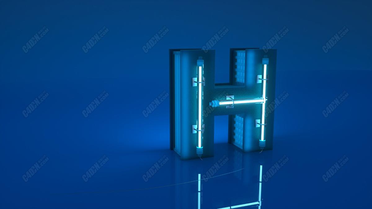 科技字母H