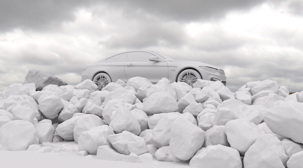 BMW M4 - 白模.jpg
