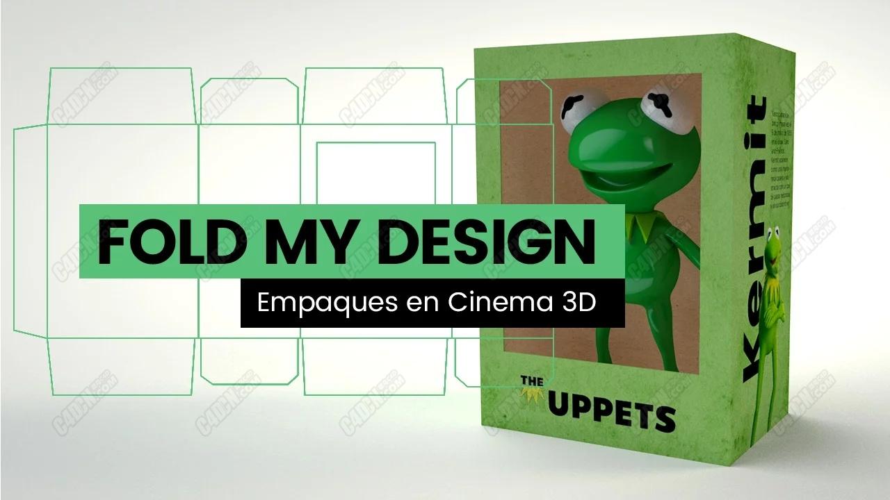 C4D包装盒折叠动画预设中文汉化版(含教程)