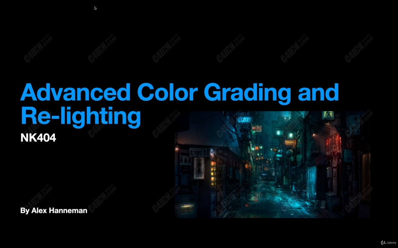Nuke视频特效调色灯光教程(含工程文件) FX Color Grading and Re-Lighting in Nuke