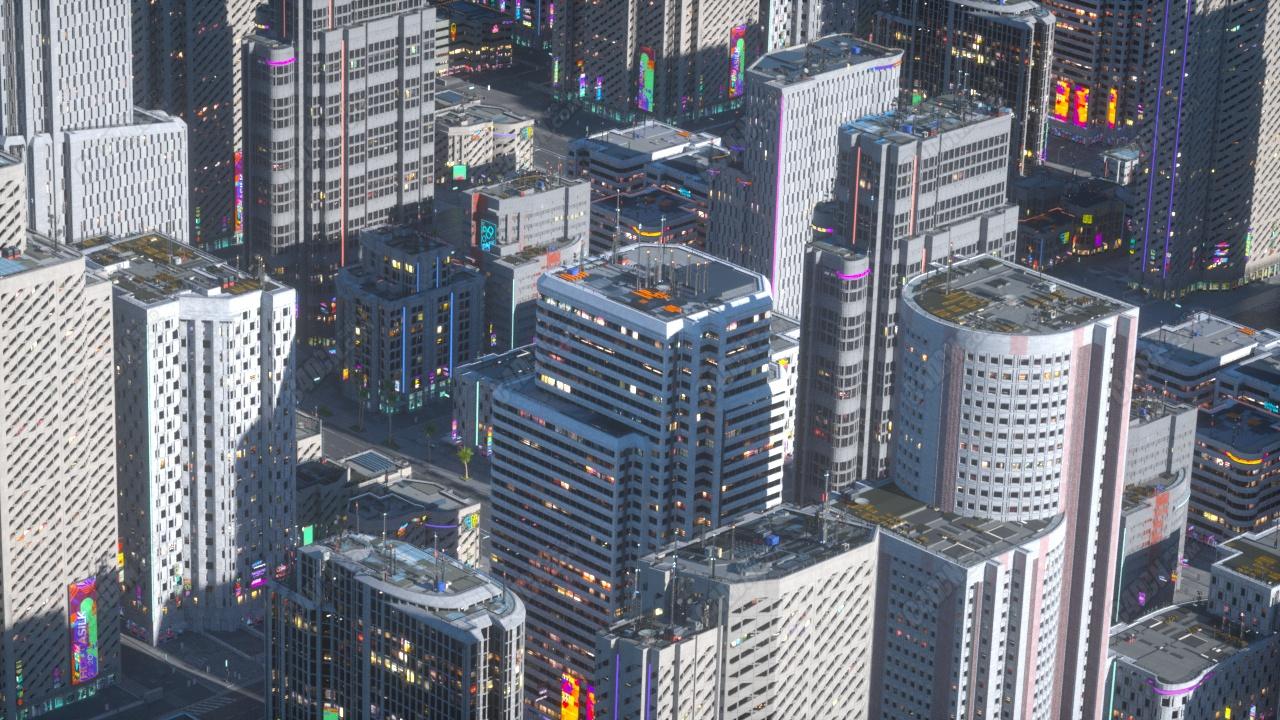 【TVart C4D插件教程】City Rig城市生成器插件使用教程