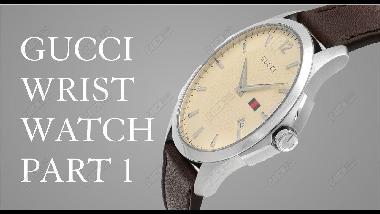 C4D男士商务手表建模教程 (包含工程文件)