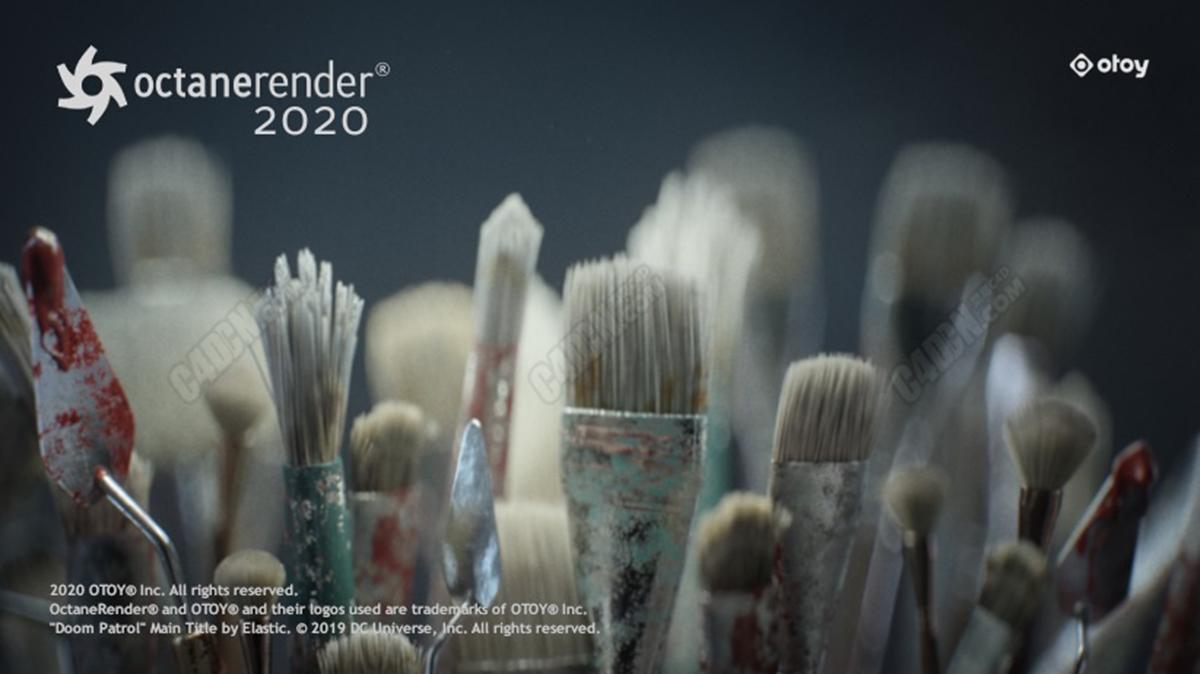 用于C4D的试用版OctaneRender 2020.1.5_R4 支持30系显卡