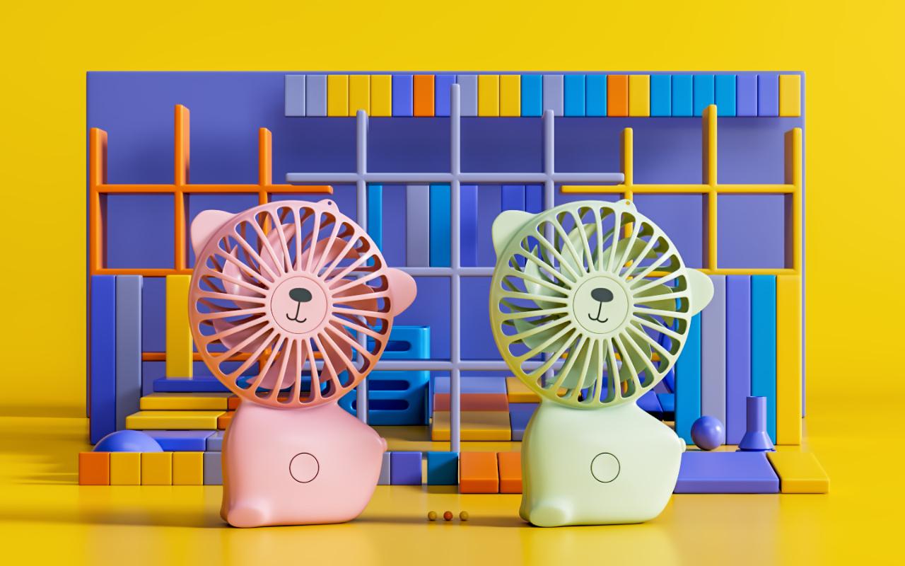 Cute Mini Fan USB