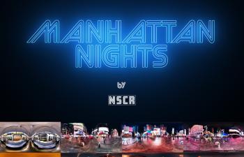 C4D曼哈顿之夜HDR环境贴图