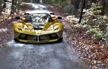 C4D跑车法拉利汽车模型 Ferrari FXX K 16 By IanVFX