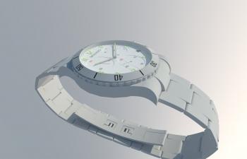 精致的摩凡陀手表模型