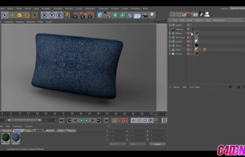 C4D免费材质预设包 Free Cinema 4D Materials Pack