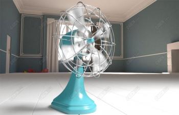 V-Ray 5渲染器风扇制作案例高级教程