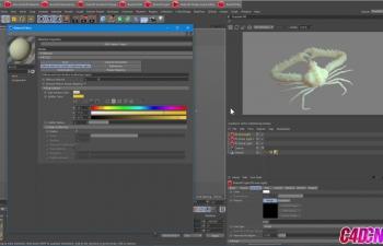 RedShift渲染器SSS次表面散射玉石材质渲染C4D教程