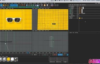 如何在Cinema 4D中创建2D卡通风格条纹C4D教程 How to Create 2D Cartoon Style Streaks in Cinema 4D