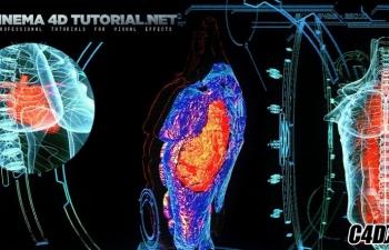 C4D三维激光人体扫描教程