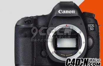 佳能Canon EOS 5D Mark III 3D模型 (Blender, 3ds, fbx, obj, abc, stl, objt, x3d格式)