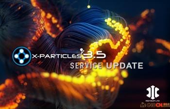 X-Particles v3.5 Demo试用版 已完整汉化
