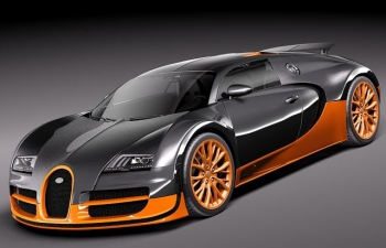 布加迪威龍SS Bugatti Veyron superspoot