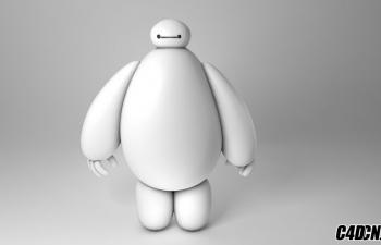超能陆战队机器人大白