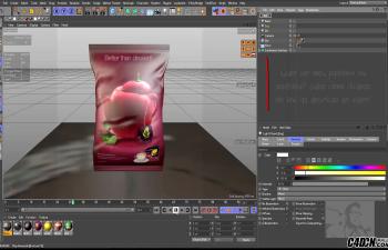 CINEMA 4D教程——多纹理包装建模渲染与动画