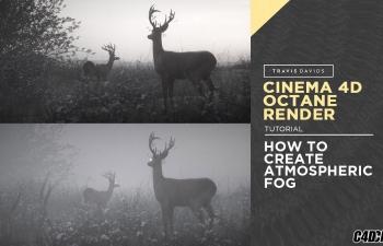 C4D教程:如何使用OC制作大气雾