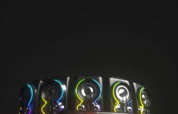 C4D模型 音响设备功放模型阿诺德渲染器OCTANE渲染器