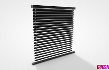 C4D模型 19 百叶窗模型 Blinders