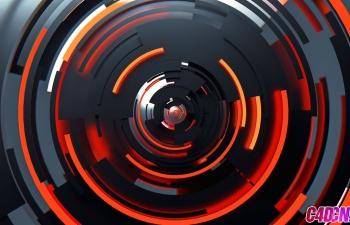 C4D精品工程 No.439 彩色循环