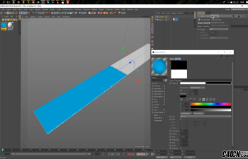 CINEMA 4D教程——动画颜料辊